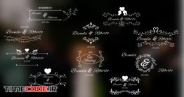 دانلود پروژه آماده پریمیر : تایتل کلیپ عروسی Wedding Titles