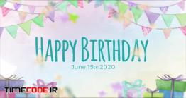 دانلود پروژه آماده افترافکت : اسلایدشو جشن تولد + موسیقی Birthday Slideshow