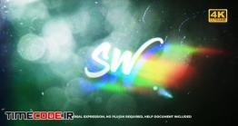 دانلود پروژه آماده افترافکت : لوگو پارازیت Flare Glitch Logo
