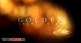 دانلود پروژه آماده افترافکت : اسلایدشو لوکس Golden Light Leaks
