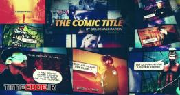 دانلود پروژه آماده افترافکت : وله کمیک بوک Fast Comic Opener