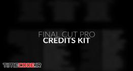 دانلود پروژه آماده فاینال کات پرو : تیتراژ پایانی فیلم Film Credits Kit