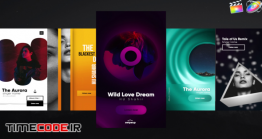 دانلود پروژه آماده فاینال کات پرو : استوری اینستاگرام Instagram Music Stories V3