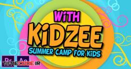 دانلود پروژه آماده پریمیر : اسلایدشو کودک Summer Camp For Kids