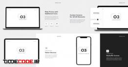 دانلود پروژه آماده افترافکت : معرفی وب سایت O3 – Website Promo