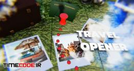 دانلود پروژه آماده افترافکت : تیزر تبلیغاتی تور گردشگری Travel Photo Opener