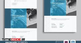 دانلود فایل لایه باز بروشور 18 صفحه ای  Word Proposal
