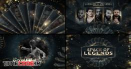 دانلود پروژه آماده افترافکت : معرفی نامزدها و جوایز Space Of Legends Awards Show