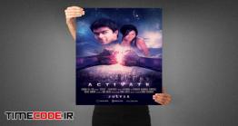 دانلود فایل لایه باز پوستر فیلم Activate Movie Poster Template