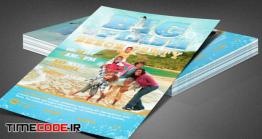 دانلود پوستر لایه باز با تم تابستان Big Splash Beach Party Flyer