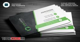 دانلود فایل لایه باز کارت ویزیت Business Cards Photoshop Templates