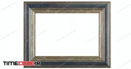 دانلود عکس استوک : قاب عکس Beautiful Wooden Frame For Pictures .