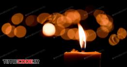 دانلود عکس استوک : شمع Candle Flame