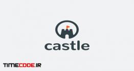 دانلود فایل لایه باز لوگو قلعه Castle Logo