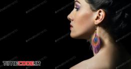 دانلود تصویر آرایش صورت Colorful Makeup