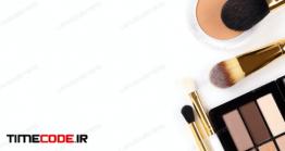 دانلود عکس پنکیک و براش Decorative Cosmetics