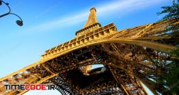 دانلود عکس استوک : برج ایفل Eiffel Tower And Sky