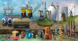 دانلود مجموعه عکس بدون پس زمینه : برق و انرژی Energy Collection