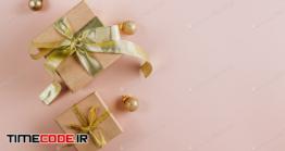 دانلود عکس جعبه کادویی Fashion Gifts Or Presents Boxes