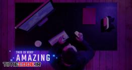 دانلود پروژه آماده پریمیر راش : تایتل Gamer Tech Titles