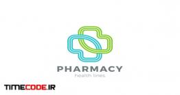 دانلود فایل لایه باز لوگو داروخانه Logo Pharmacy Medical Clinic Cross