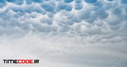 دانلود عکس استوک : ابر Mammatus Clouds