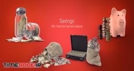 دانلود مجموعه عکس بدون پس زمینه : پس انداز و قلک Savings Collection PSD Images