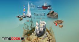 دانلود مجموعه عکس بدون پس زمینه : کشتی Nautical Collection