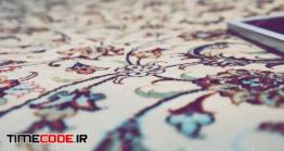 دانلود عکس استوک : فرش ایرانی Persian Details
