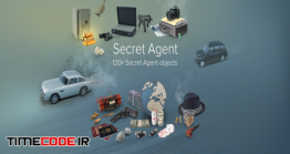 دانلود مجموعه عکس بدون پس زمینه : نظامی و جاسوسی Secret Agent Collection