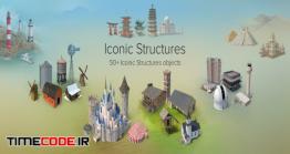 دانلود مجموعه عکس بدون پس زمینه : ساختمان Iconic Structures Collection