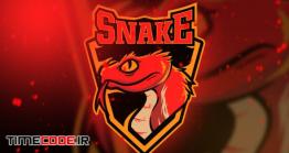 دانلود فایل لایه باز لوگو  Cobra Snake Esport Logo Vol. 5