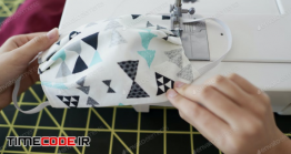دانلود عکس ساخت ماسک بهداشتی خانگی  Detail Of Face Mask Made At Home