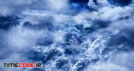 فوتیج موشن حرکت میان ابر ها Flying Through Abstract Fairy Clouds