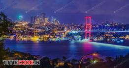 دانلود عکس استانبول در شب  Istanbul At Night