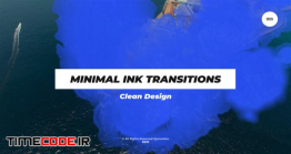 دانلود پروژه آماده افترافکت : ترنزیشن جوهری Minimal Ink Transitions