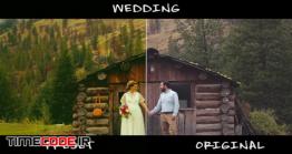 پریست پریمیر مخصوص اصلاح رنگ کلیپ عروسی Wedding Color Presets