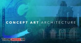 آموزش جامع طراحی دیجیتال برای معماران Concept Art Architecture – Design And Paint Stunning Cityscapes
