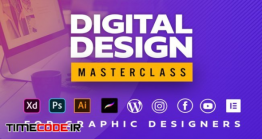 دانلود آموزش جامع طراحی دیجیتال Digital Design Masterclass For Graphic Designers
