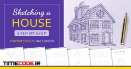 دانلود آموزش کامل طراحی خانه با مداد مخصوص معماران Sketching A House: Step-by-Step