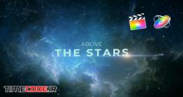 دانلود پروژه آماده فاینال کات پرو : تیتراژ در فضا Above The Stars