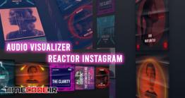 دانلود پروژه آماده افترافکت : اکولایزر مخصوص اینستاگرام  Audio Visualizer Reactor Instagram