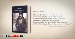 دانلود پروژه آماده افترافکت : تیزر تبلیغاتی معرفی کتاب Author Opener