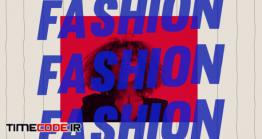 دانلود پروژه آماده افترافکت : وله فشن Fashion Fast Intro