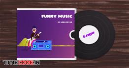 دانلود پروژه آماده افترافکت : اکولایزر کارتونی Funny Character Audio Visualization