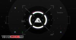 دانلود پروژه آماده افترافکت : لوگو پارازیت Glitch HUD Logo