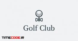 دانلود فایل لایه باز لوگو گلف Golf Club Logo
