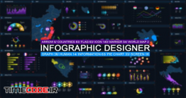 دانلود پروژه آماده افترافکت : چارت و نمودار اینفوگرافی Infographic Designer