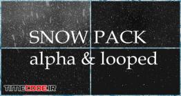 دانلود فوتیج بارش برف Snow Pack