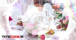 دانلود پروژه آماده پریمیر : اسلایدشو عروسی Wedding Slides